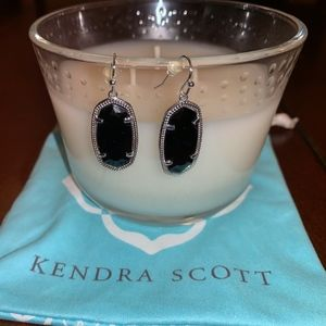 Kendra Scott Dani Silver Drop Earrings